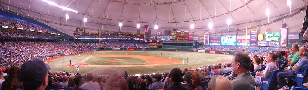 Tropicana Field in 2007