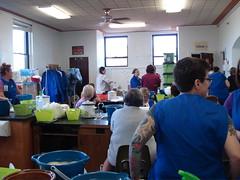 Dye lab @ Yarn School 2007