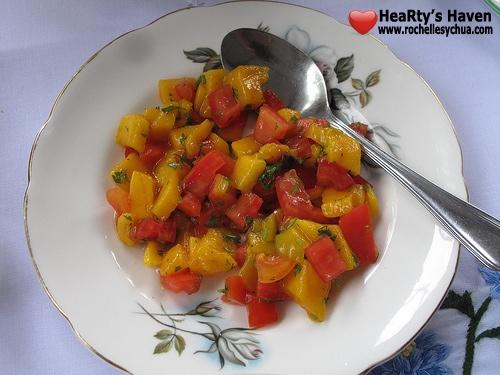 mango tomato mix