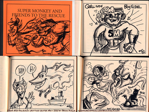 826 Valencia storybook: Super Monkey
