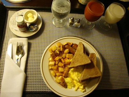 good morning room service!