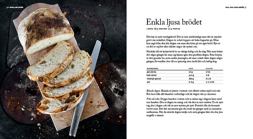 bröd med surdeg recept