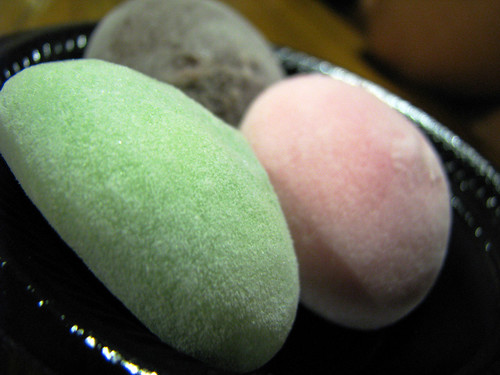 Chocolate Mochi Ice Cream Mochi Ice Cream Bubbies