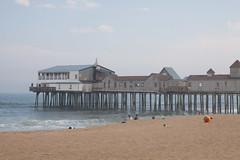 A day at the Beach (Kathy~) Tags: maine camden oldorchardbeach pier beach mainecamden herowinner fc instagram