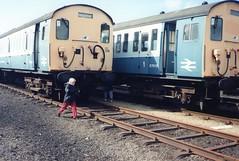 kineton mod depot class 307 (brianhancock50) Tags: train railway emu britishrail