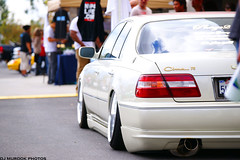 DSC06375 (dj murdok photos) Tags: show people cars honda bokeh sony fisheye socal civic fullframe alpha rims acura integra jdm offset ats tsx as1 a850 usdm phaze2 thechronicles