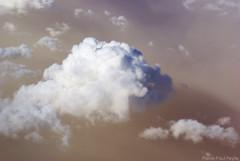 Over the sandstorm / Survol d'une tempte de sable (Pierre-Paul Feyte) Tags: africa cloud weather sandstorm nuage nuages algrie afrique mto mtorologie algria temptedesable