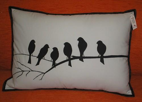 almofada pássaros ... by @ coisas da gi