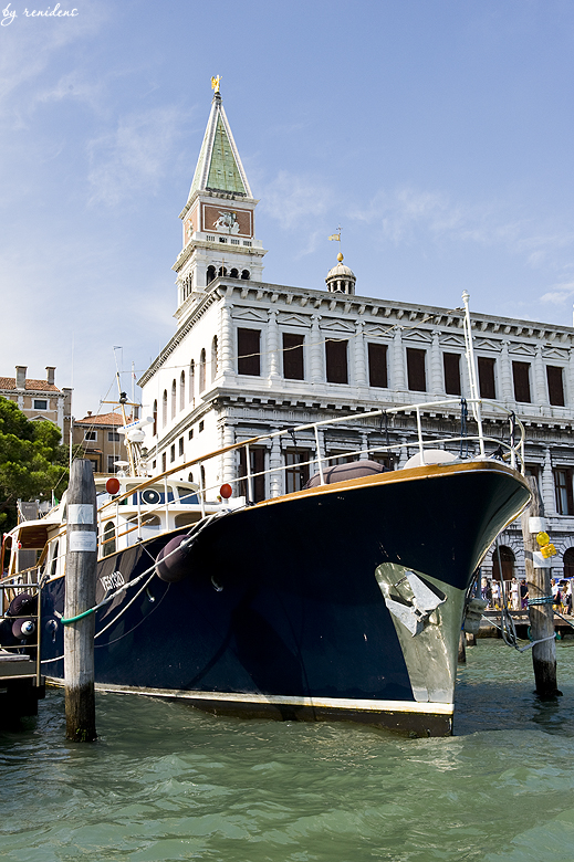 Piazza San Marco - view from water