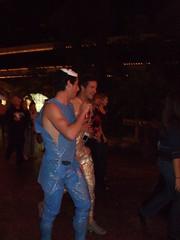 Costume: Plastic wrap guys... (demartinyh) Tags: fujif40