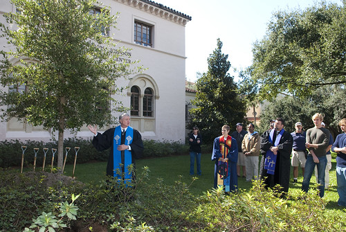 Founder's Day Tree Planting Ceremony