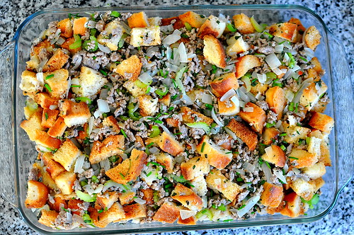 Sausage, Sage, and Thyme Bread Stuffing