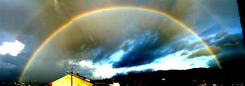 Rainbow Panorama (adjusted)