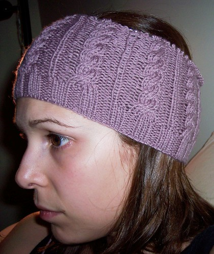Side View - Cable Hat