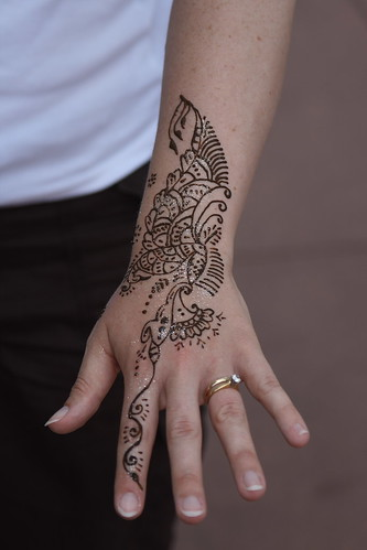 tattoos designs for girls on hand. Creative Henna Tattoos in sexy Girls Hand