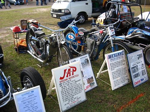 Vintage speedway bikes
