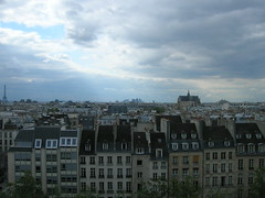 Tutta l'ardesia di Parigi (Valeria Procaccianti) Tags: paris france tetto blu francia iledefrance parigi toits ardesia