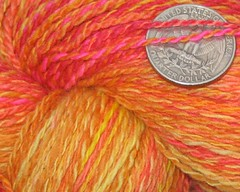 Fire Spirit Handspun Fingering Weight Yarn (WW)