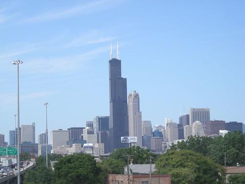Chicago - Kenedy Expressway View