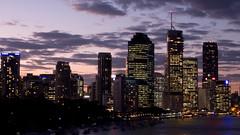 Brisbane City by Evening