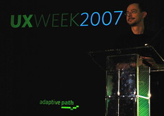Jesse James Garret at UX Week 2007