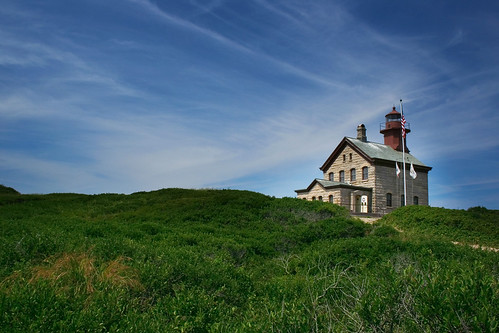 Block Island North Light by madpics.