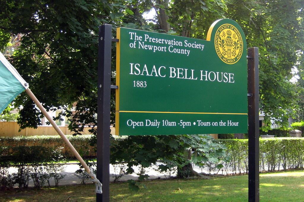 RI - Newport: Isaac Bell House