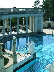 Hearst Castle (Neoclassical Pool) (catface3) Tags: california statepark white castle water pool roman mosaic turquoise columns classical marble hearst catface3