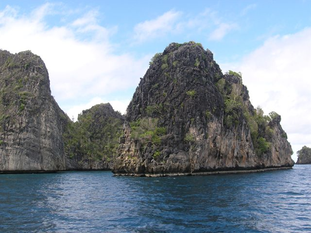 Islands in Raja Ampat