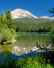 Lassen Volcanic National Park (StevenLPierce) Tags: california mountain mountains reflection volcano nationalpark lassen refection manzanita lassenvolcanicnationalpark lassenpeak ultimateshot