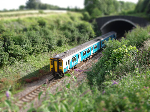 Tilt Shift Train v.2