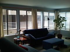 living room, NE corner from SW