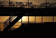 Circle line sunset (claudia stucki) Tags: city nyc vacation usa holiday ny newyork america town big nice september stadt huge amerika ferien thebigapple