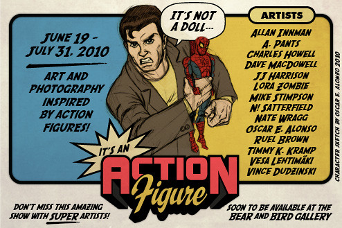 "It's not a doll, It's an ACTION FIGURE"" Web Flyer"