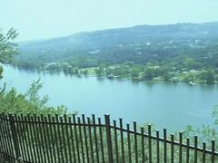 Austin:  A view of Lake Austin (Colorado River) from Mt. Bonnell (pawightm (Patricia)) Tags: austin texas coloradoriver lakeaustin mtbonnell texashillcountry centraltexas limestonecliffs pawightm austinviewpoint highestviewpointinaustin