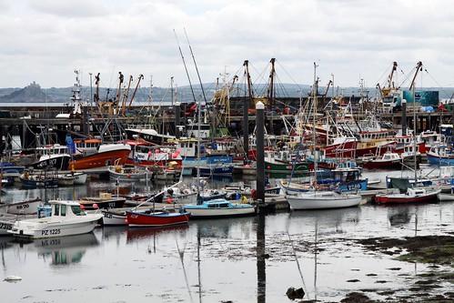 Newlyn Hafen