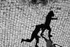 playing with shadows 1...2...3... (...storrao...) Tags: street shadow blackandwhite bw portugal walking nikon noiretblanc stones ground nb bn gaia pretobranco avintes d90 storrao sofiatorrão nikond90bw