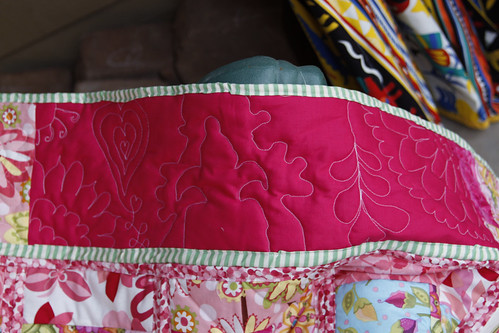 Pink Quilt detail 2