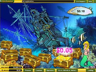 free Mermaid's Quest slot bonus award
