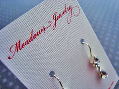 Meadows Jewelry - Earring Card