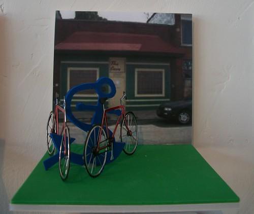 Bike Rack Maquette, Gadsby Creson