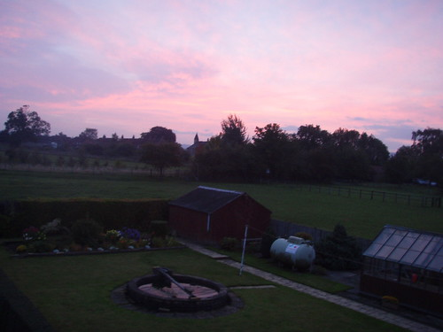 Sunrise in Bugthorpe