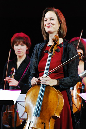 Anja Lechner. Jazz In Kiev 2010.