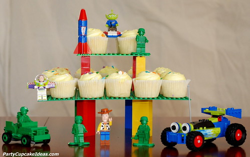 Lego Cupcake Stand