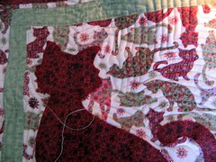 Aplique (arteira2009) Tags: quilt pillow patch almofada gatinho aplicao