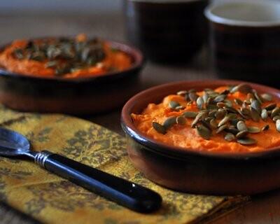 Savory Sweet Potato Casserole by A Veggie Venture 2010-400