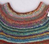 Hand Spun Girl's Cap Sleeve Sweater  Size 10/12