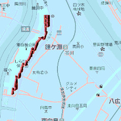 Shirahige on Kanegafuchi
