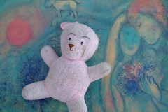 art plus teddy (beavers abroad) Tags: auckland discardedtoys discardedart inorganicrubbish