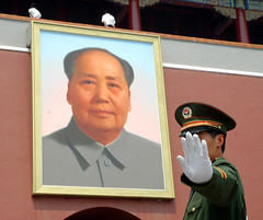 Censorship in China (lancewebel) Tags: china party freedom democracy flickr hand beijing free censorship communist communism blocked stop cover mao block prc tienanmensquare qianmen democratic mainland freespeech firewall chairmanmao denied maozedong censor peoplesrepublicofchina stopping covering communal deny maotsetung greatfirewall tienanmen gateofheavenlypeace communistparty flickrblocked webel censoring photographyisnotacrime worldteach lancewebel losingface loseface qianmensquare lossofface awardflickrbest